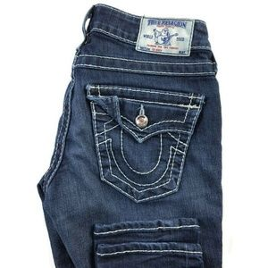 True Religion Skinny Dark Wash Jeans
